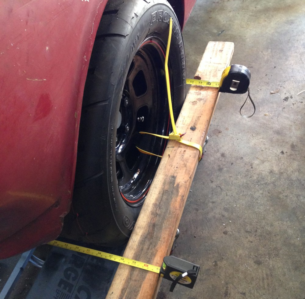 DIY car alignment