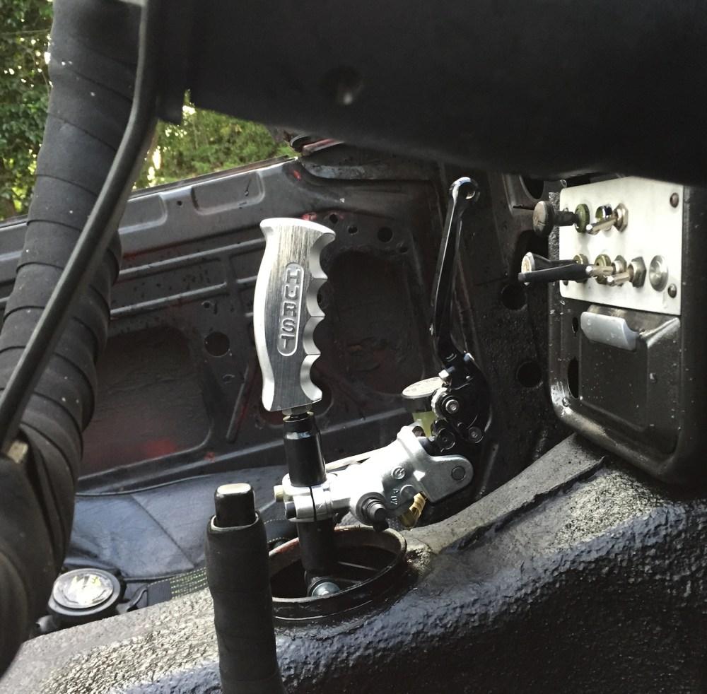 Car hand clutch