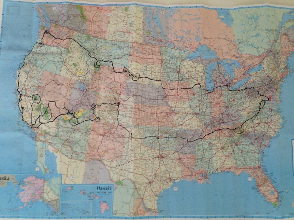 Trip Around USA
