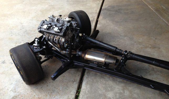Bike Engine Car Chassis