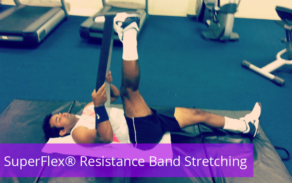 SuperFlex® Resistance Band Stretching