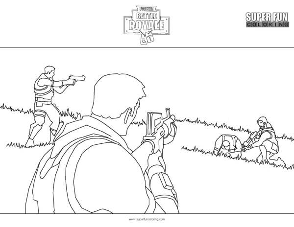 Drift Fortnite Characters Coloring Pages