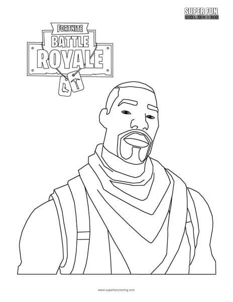 Fortnite Battle Royale Coloring Sheets