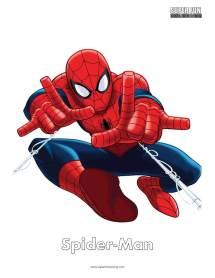 Spider-man Coloring Page - Super Fun