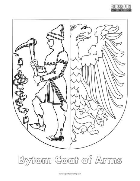 Iceland Coat Of Arms Coloring Page Coloring Pages