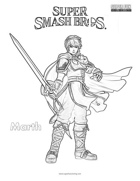 Super Smash Bros Ultimate Sonic Coloring Pages