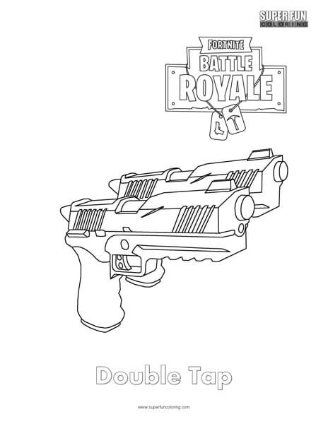 20 Coloring Page Fortnite Pistols Ideas And Designs