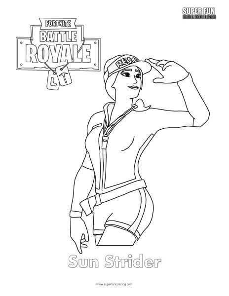 Tomato Skin Fortnite Coloring Pages