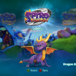 Spyro Reignited Trilogy Game Select