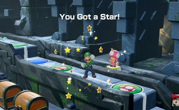 Super Mario Party star get