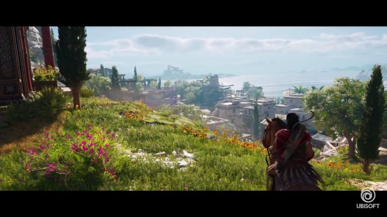 Assassin's Creed Odyssey Alexios Riding Horse
