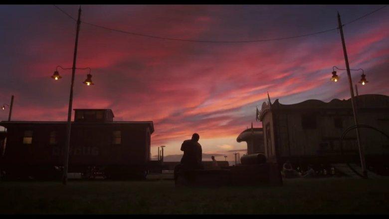 Dumbo Sun Setting over Holt Farrier