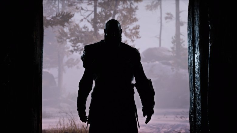 Kratos Standing in Doorway
