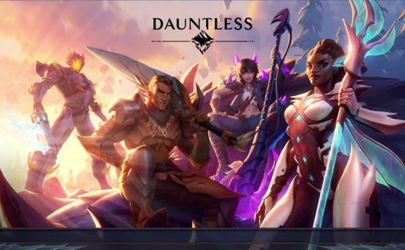 Dauntless Title Screen