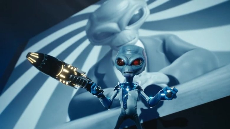 Alien using mind control in Destroy all Humans