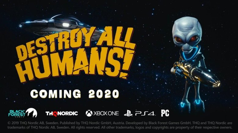 Destroy All Humans Remake Coming Soon
