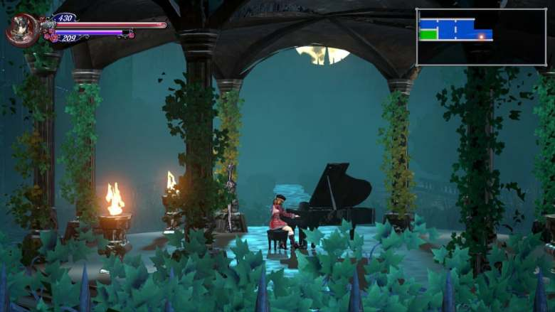 Bloodstained Playing Piano
