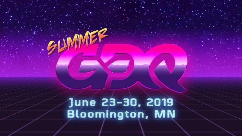 SGDQ 2019 Dates