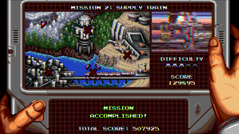 Blazing Chrome Mission Select