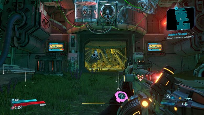 Borderlands 3 Rumble in the Jungle
