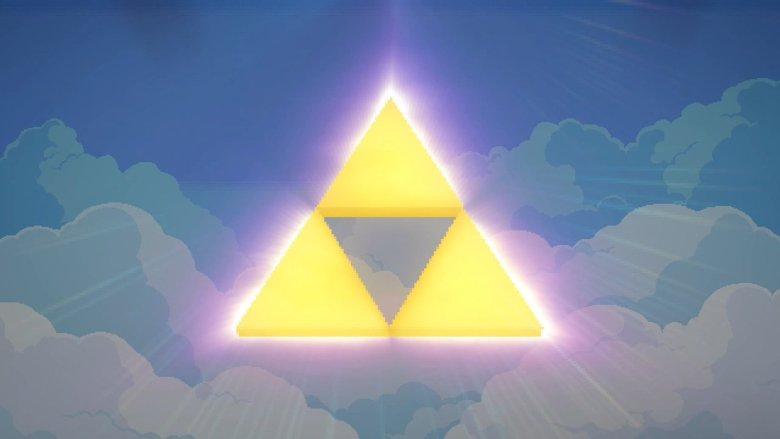 Glowing Triforce
