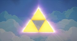 Glowing Triforce
