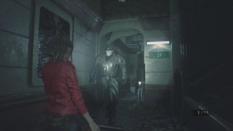 Mr X Resident Evil 2