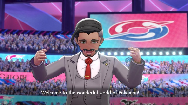 Pokemon Shield Announcer