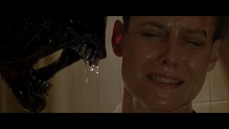 Alien Staring Down Ripley in Alien 3