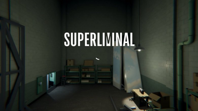 Superliminal Title Screen