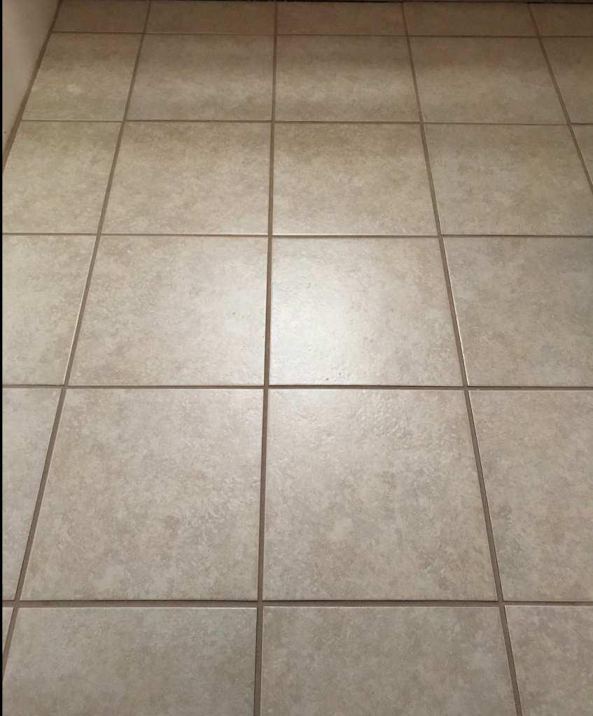My DIY Tiled Floor