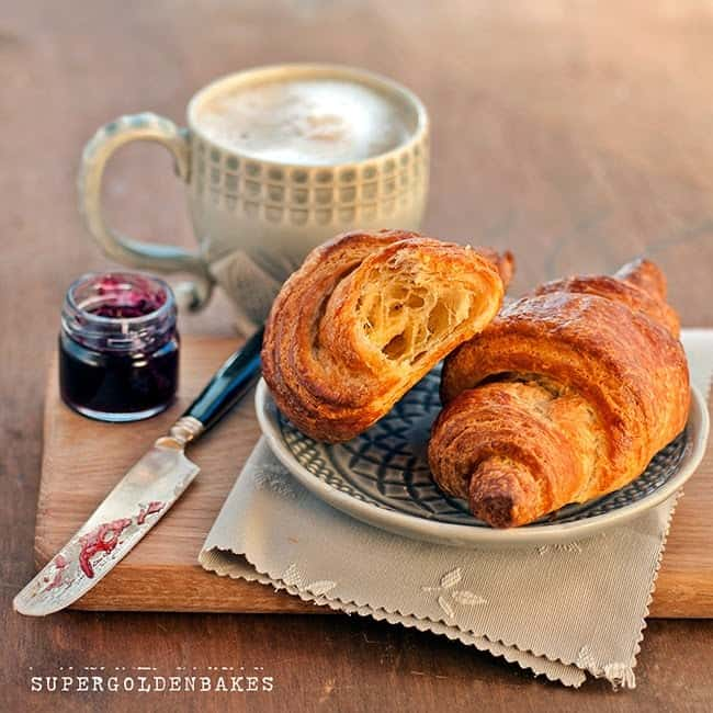 Quick method croissants from scratch