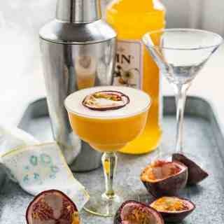 Refreshing and tangy - a Martini for those who love passionfruit!