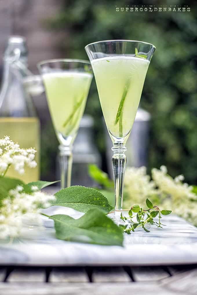 The English garden - a sophisticated and refreshing gin-based cocktail