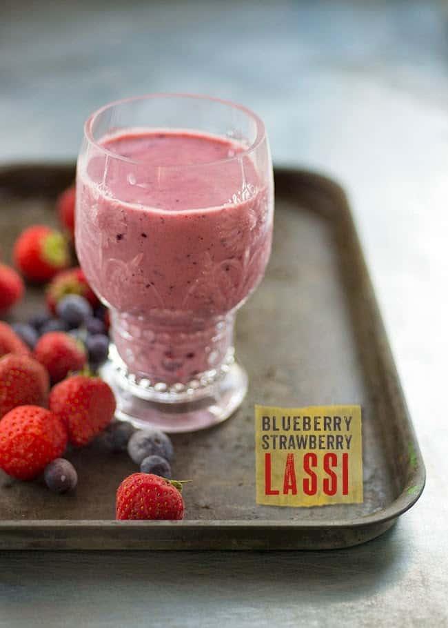 Berry Lassi