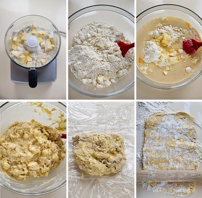 Quick and Easy Danish Pastries - quick method laminated dough