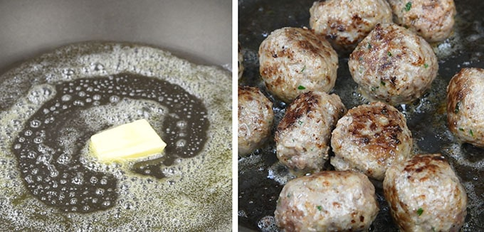 Swedish meatballs step by step