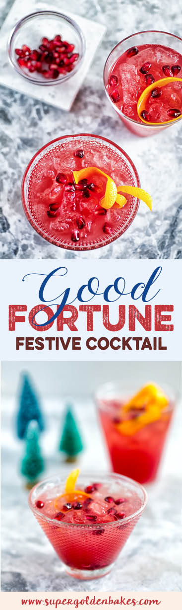 A cocktail to ring in the New Year with - the Good Fortune