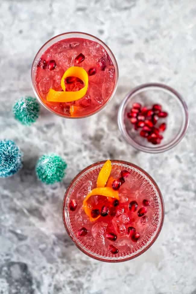 Festive cocktails: the Good Fortune