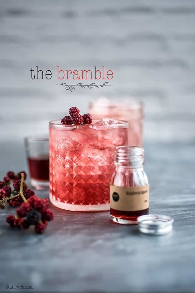 The Bramble - a beautifully refreshing gin-based cocktail