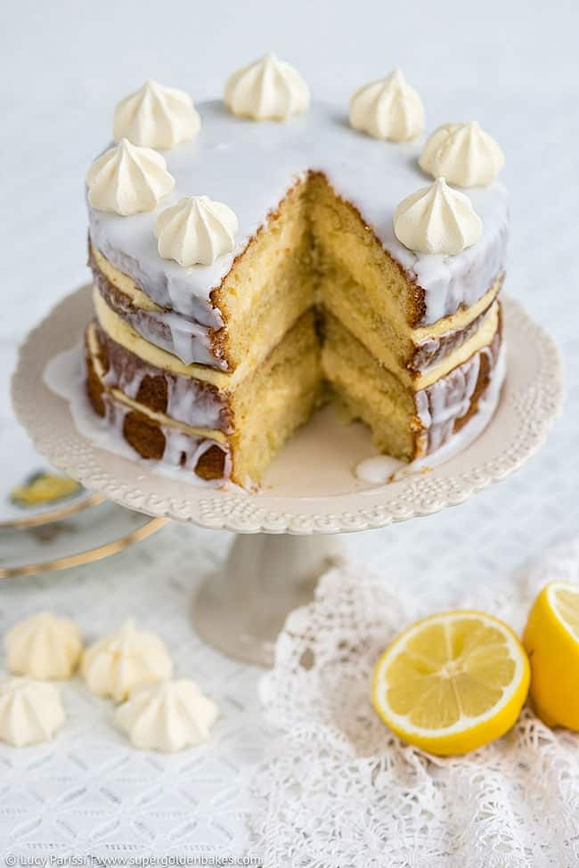 Gin, Passionfruit and Lemon Layer Cake