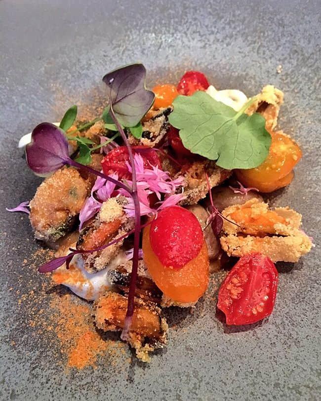 Pied-à-terre - London Restaurant Review