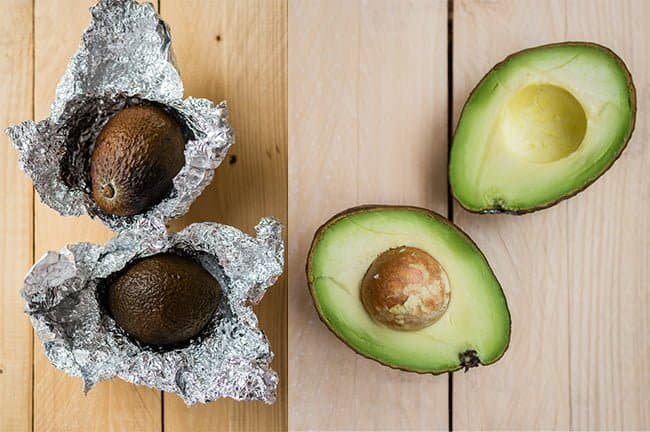 Speed ripen an avocado in the oven - this works!