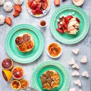 Three sweet ways with gluten-free crumpets