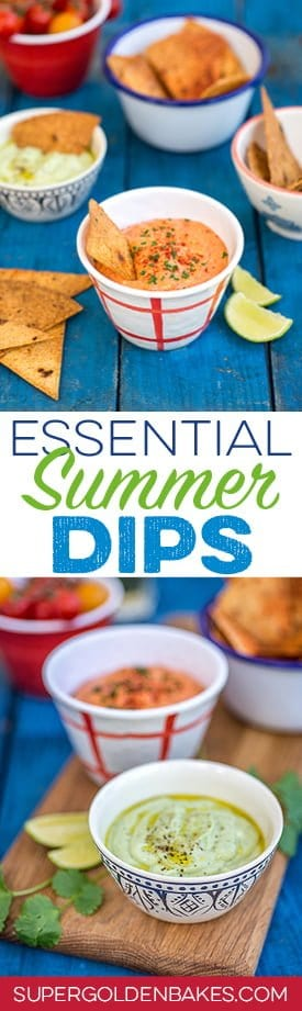 Make sure you keep your guests and family happy while the barbecue is heating up by serving up these incredibly easy and delicious dips.