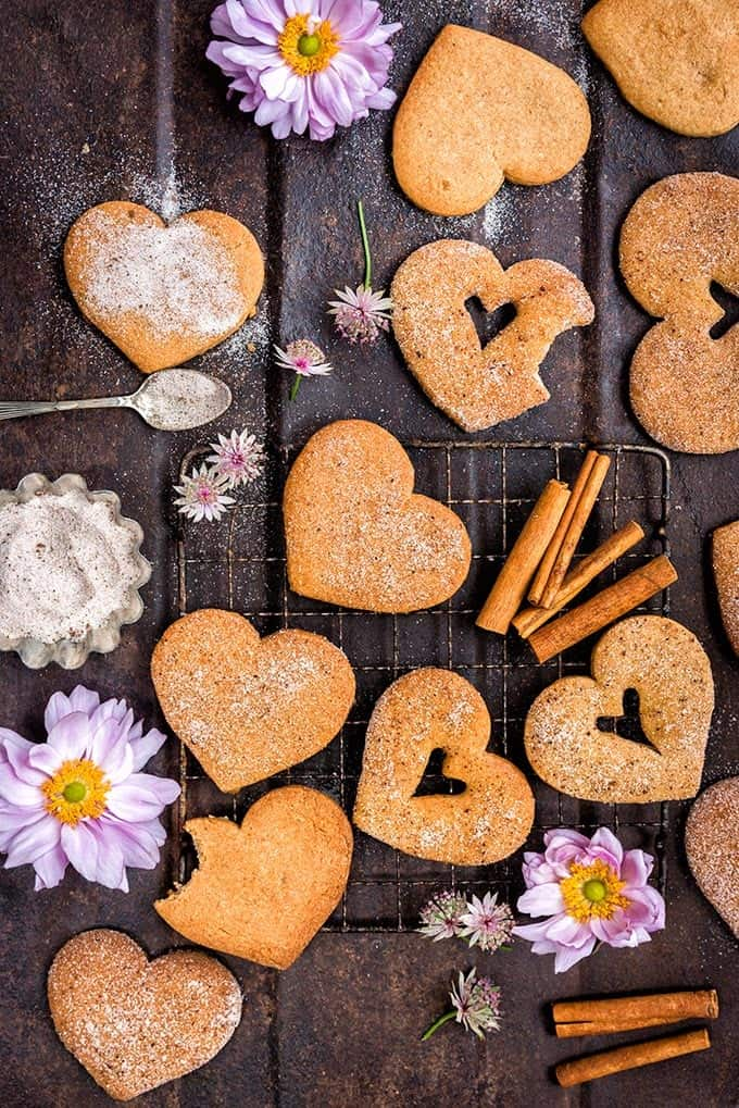 These fragrant sugar and spice cookies are easy to make and totally irresistible! Coat with cinnamon sugar for extra crunch.