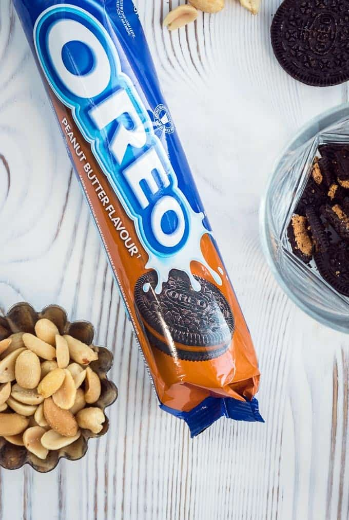 Peanut butter flavour Oreos