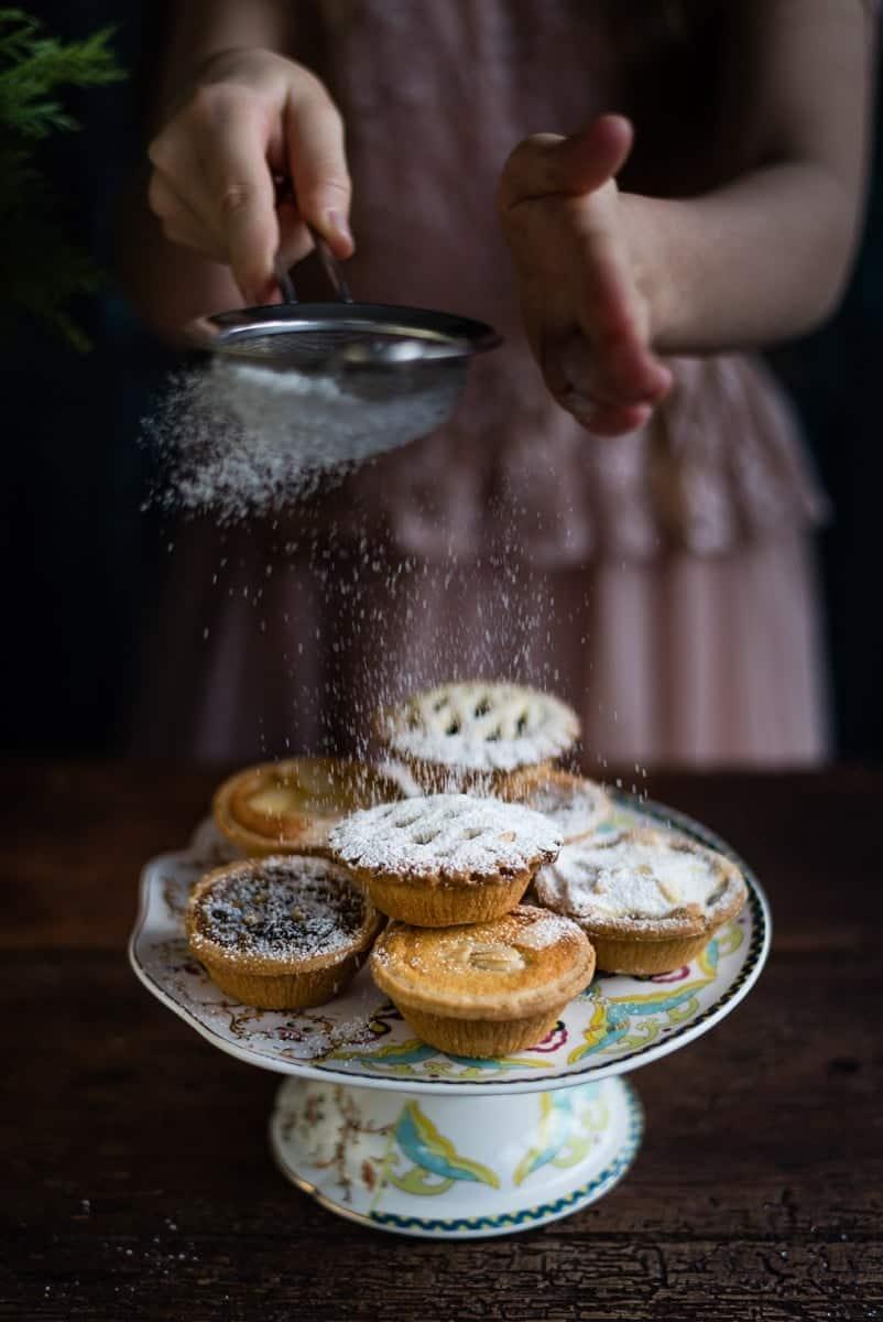 Iceland Foods luxury mini tart selection and award-winning mince pies