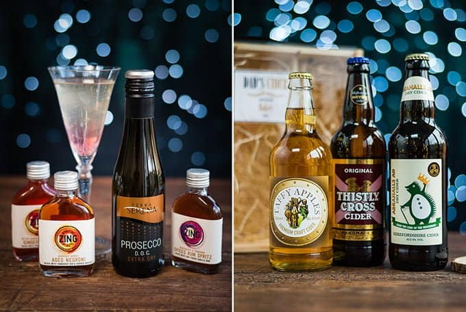 Personalised drink gifts