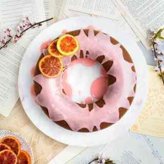 orange and sour cream bundt cake